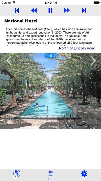 Miami Beach Art Deco GPS Tour screenshot-4