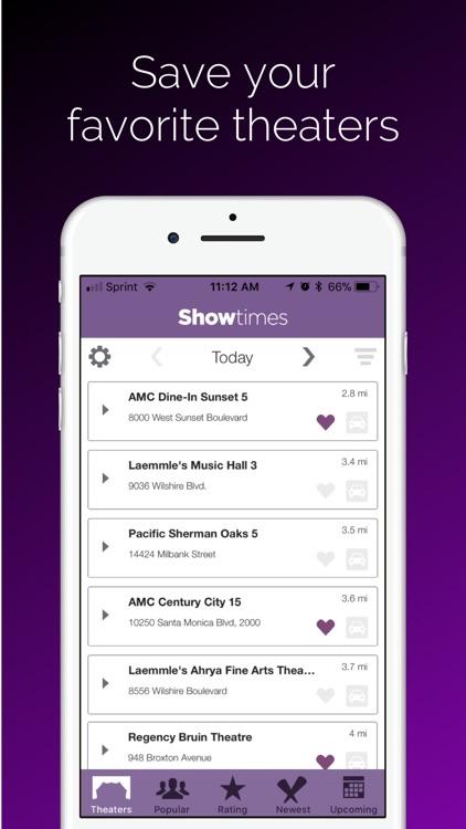 Showtimes - Movie Tickets screenshot-4