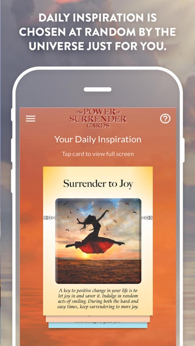 The Power of Surrender Cards screenshot 2
