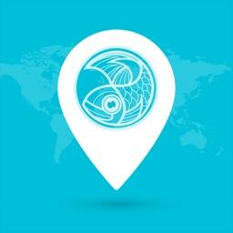 钓鱼导航 - 5万+钓点精准地图导航