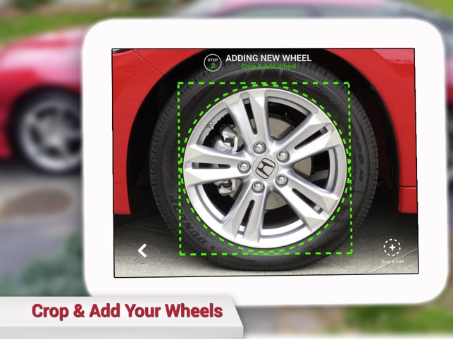 Wheels ON On The App Store - Rim websites that show your car