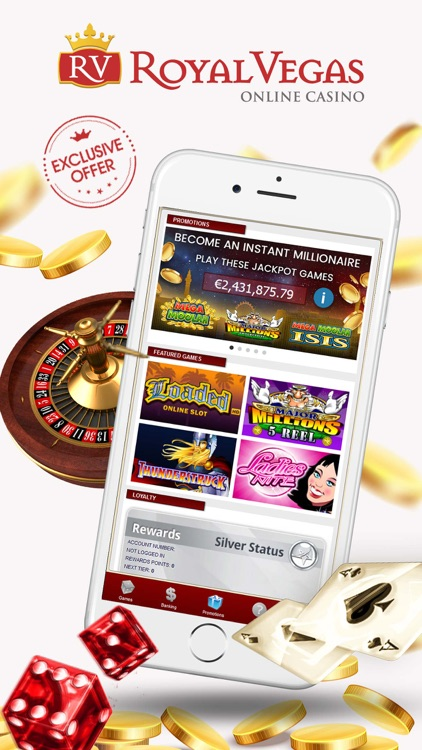 Royal Vegas Online Casino screenshot-0