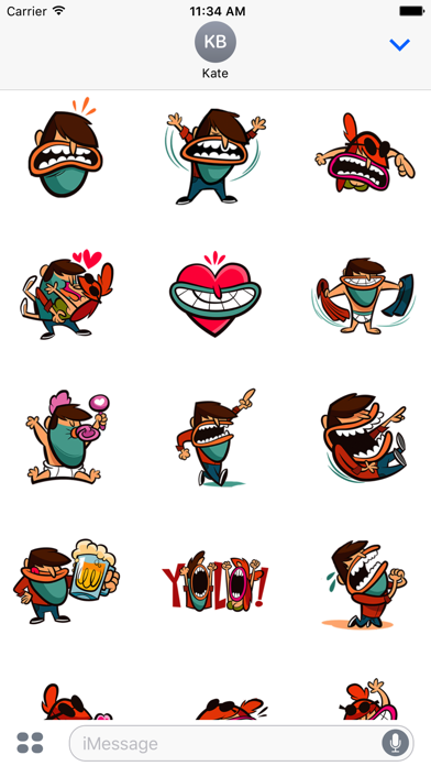 Gangster Stickers screenshot one