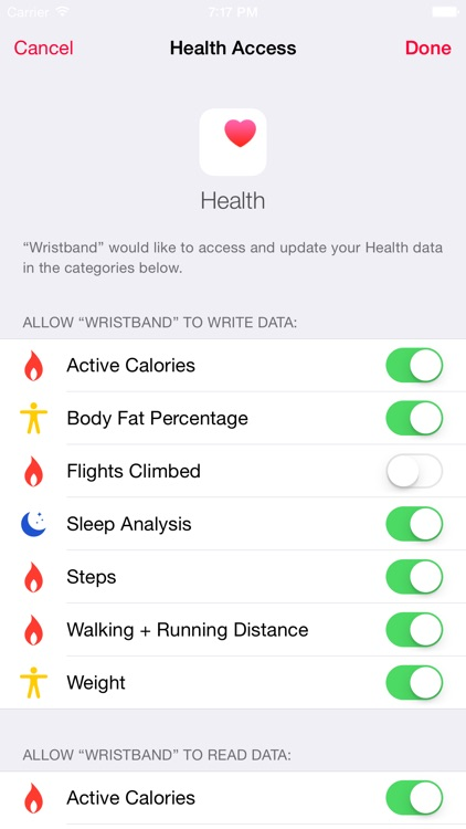 Data Manager for Fitbit