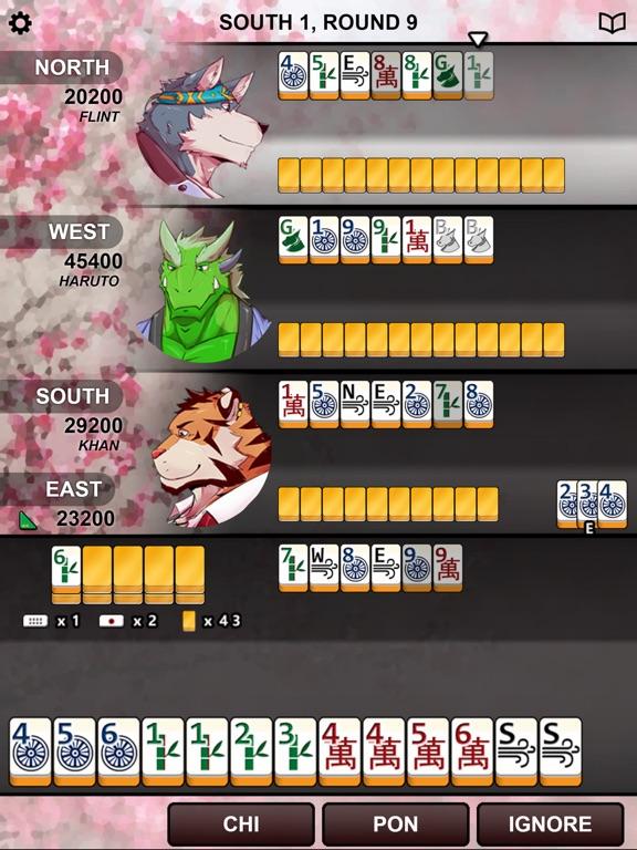 Скачать Kemono Mahjong