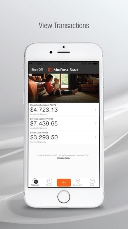 MidFirst Bank Mobile