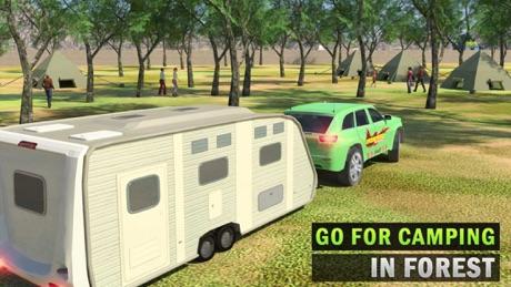 Summer Camper Van Truck Simulator & Car Parking 3D