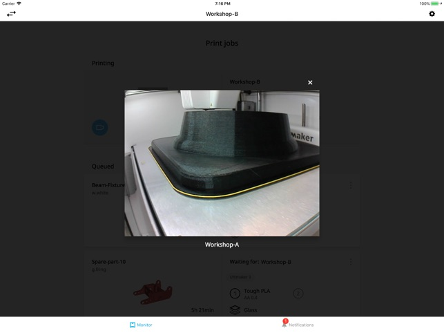 Ultimaker on the App Store