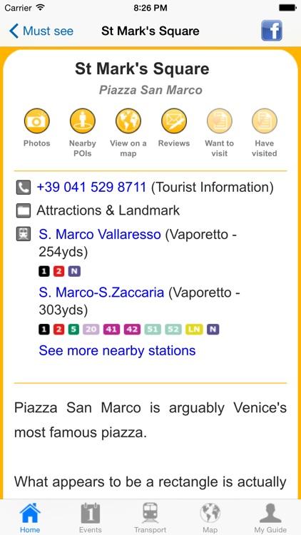 Venice Travel Guide Offline screenshot-4