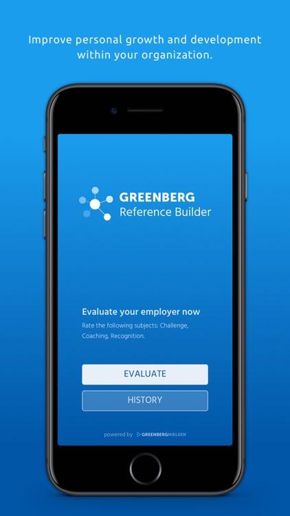 Greenberg Reference Builder screenshot-0