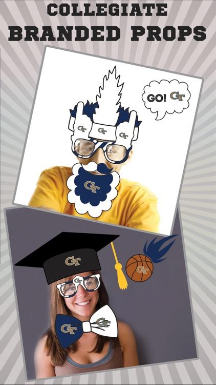 Georgia Tech Yellow Jackets PLUS Selfie Stickers