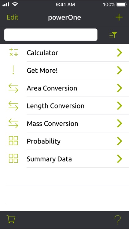 powerOne Scientific Lite screenshot-3