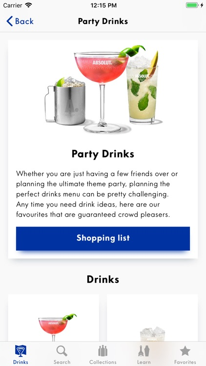 Drinkspiration - Drink Recipes screenshot-2