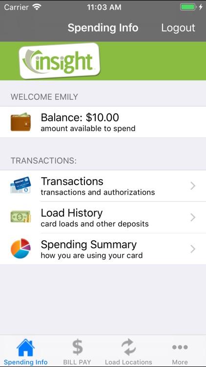 Insight Visa® Prepaid - Mobile