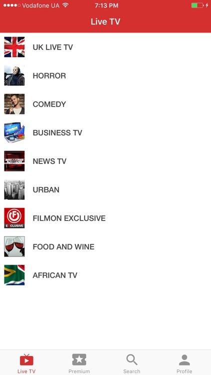 FilmOn Live Television