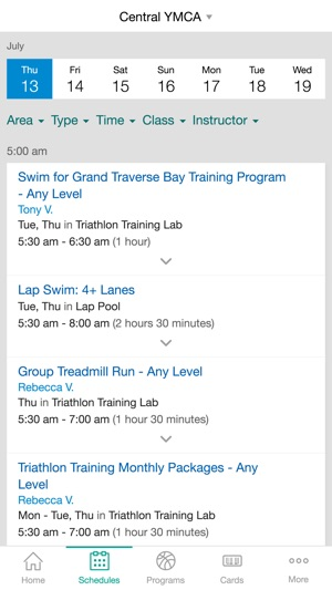 Grand Traverse Bay YMCA on the App Store