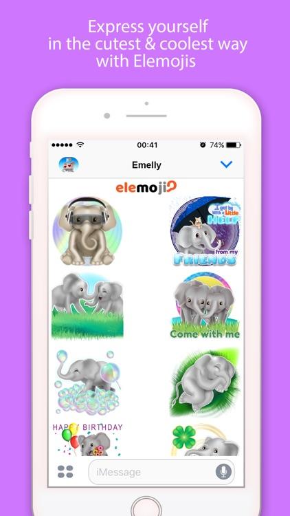 EleMoji - Elephant Emojis & Stickers screenshot-4