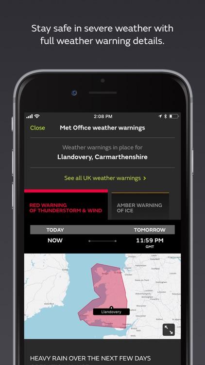 Met Office Weather Forecast screenshot-3
