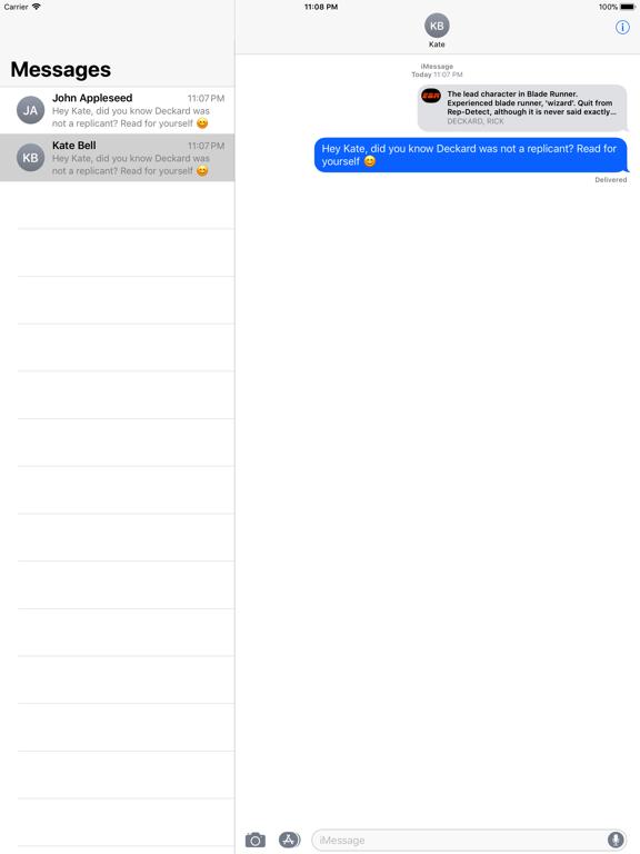 Blade Runner Messages screenshot 4