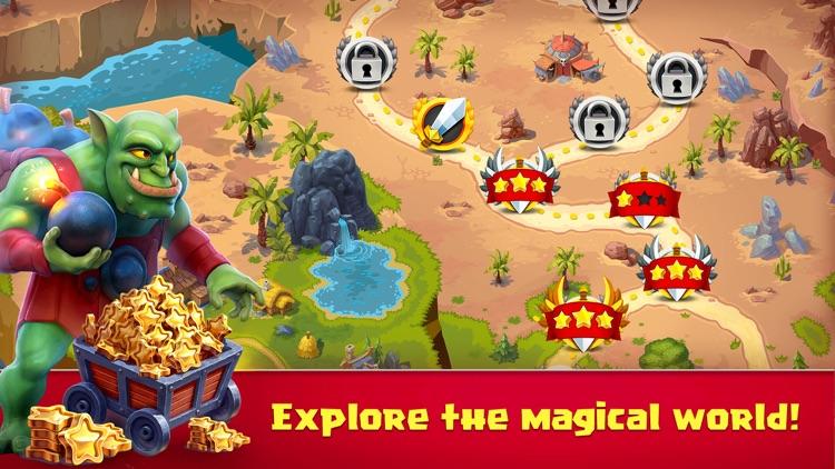Toy Defense Fantasy Creeps screenshot-3