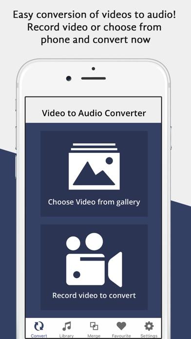 Video Mp4 to Mp3 Converter Pro screenshot one