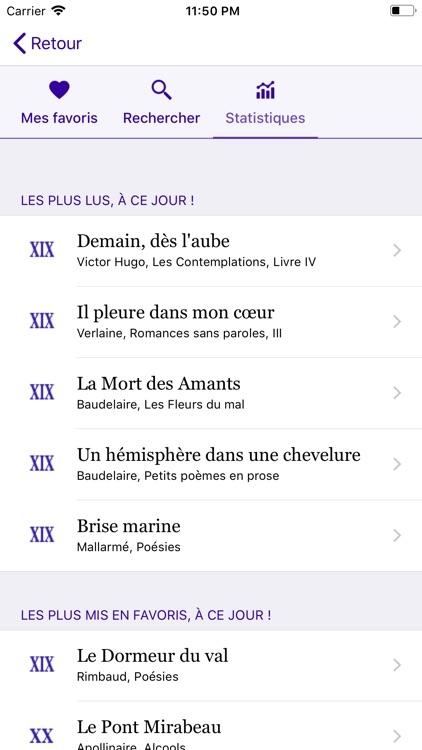 Un Poème Un Jour screenshot-6