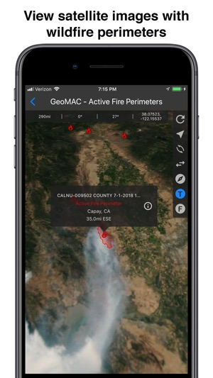 Fires Wildfire Maps And Info On The App Store