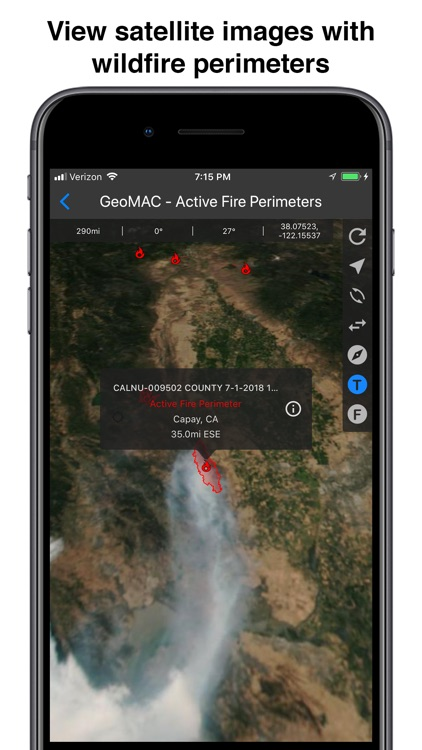 Fires - Wildfire Maps and Info