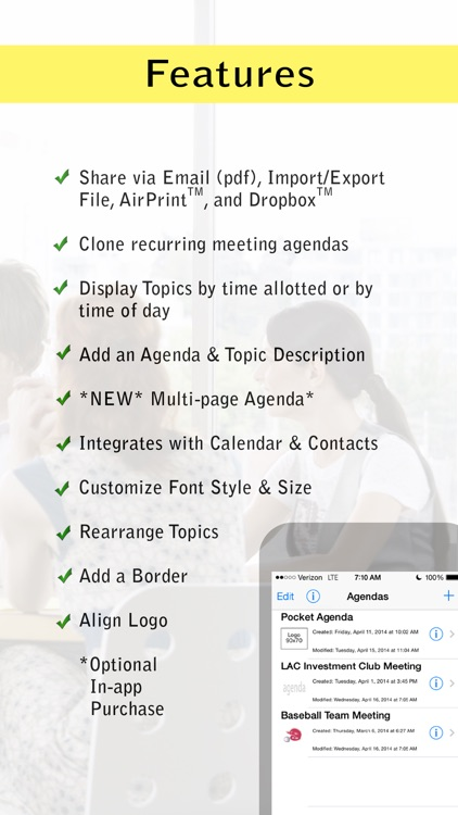 Pocket Agenda Pro screenshot-2