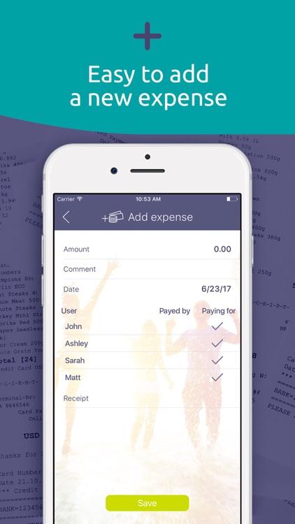 Split expenses & bills, costs screenshot-3