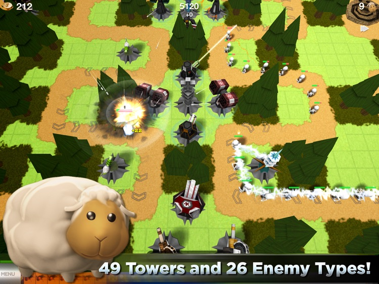 TowerMadness HD screenshot-0