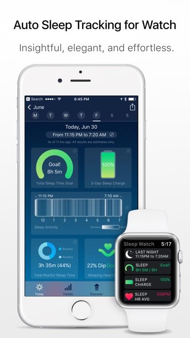 Sleep Watch - Auto sleep monitor using your watch app image
