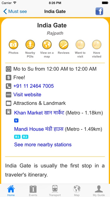 New Delhi Travel Guide Offline screenshot-4