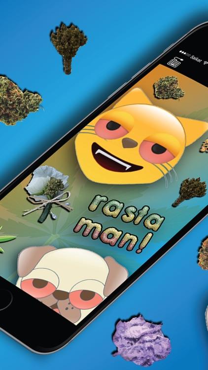 Vibin Weed Emoji Keyboard