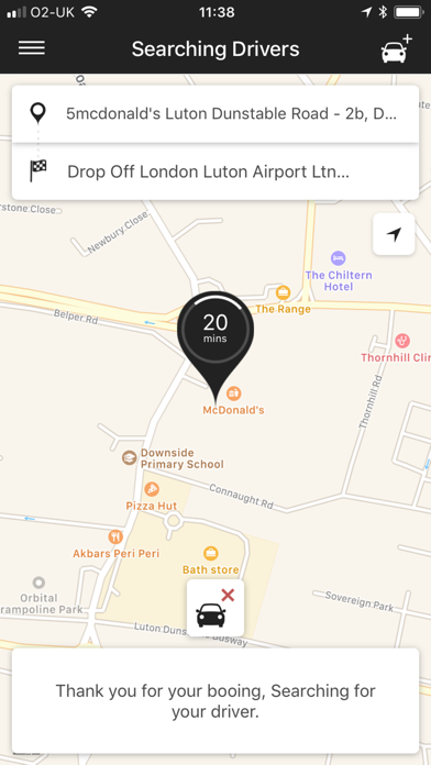 1st Airport Taxis screenshot 2