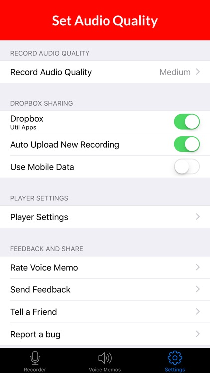 Voice Recorder & Audio Memos screenshot-4