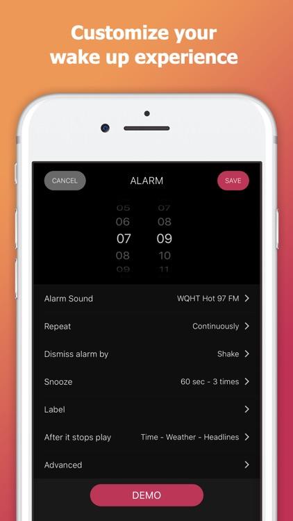 myAlarm Clock: Alarm Clock App screenshot-3