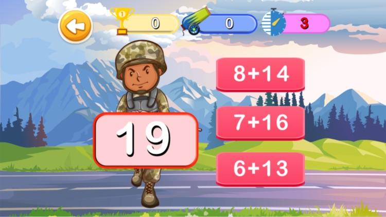 Math 3rd : Math Of Army