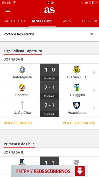 Screenshot for AS in Chile App Store