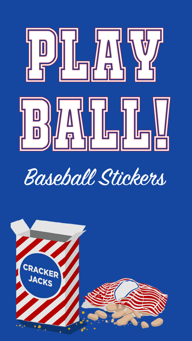Play Ball StickersScreenshot of 1
