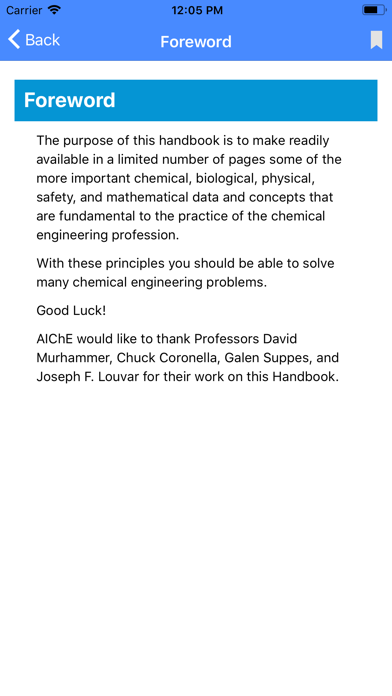 AIChE Student Handbook | App Price Drops