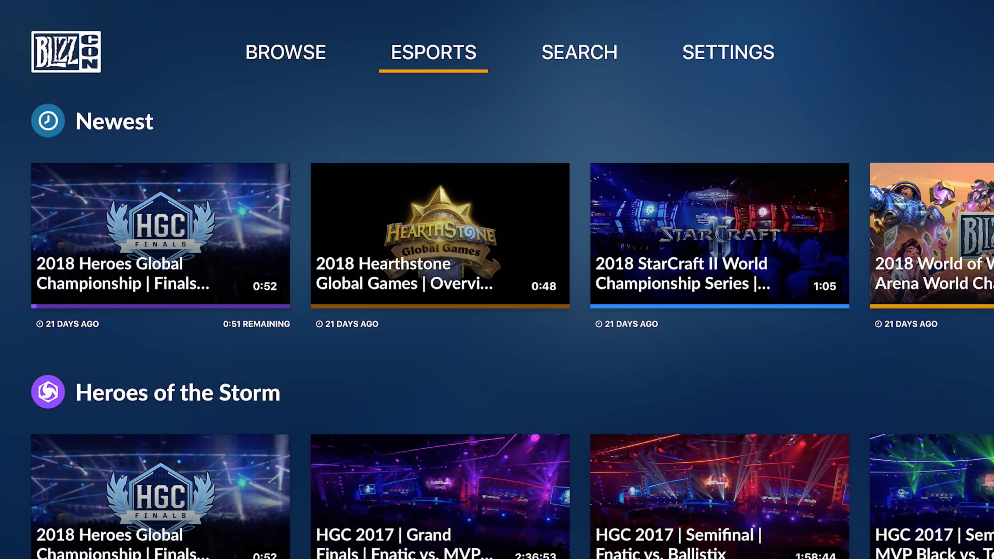 BlizzCon TV screenshot 2