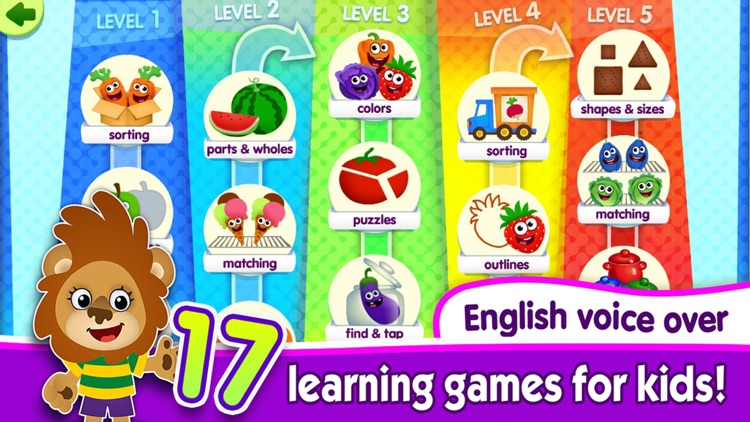 Learning Games 4 Kids Toddlers screenshot-0