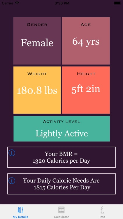 Weight Loss Calorie Calculator screenshot-0
