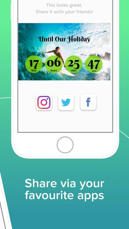 Cloxee - Countdown Widget