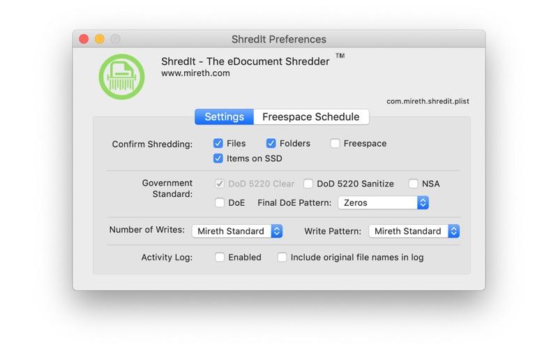 ShredIt X Screenshots