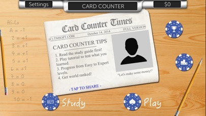 Card Counter review screenshots
