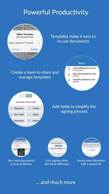 SignNow: Sign & Fill PDF Docs screenshot-3