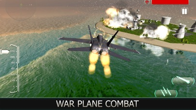 Air Force Jet Fighter 3D screenshot two