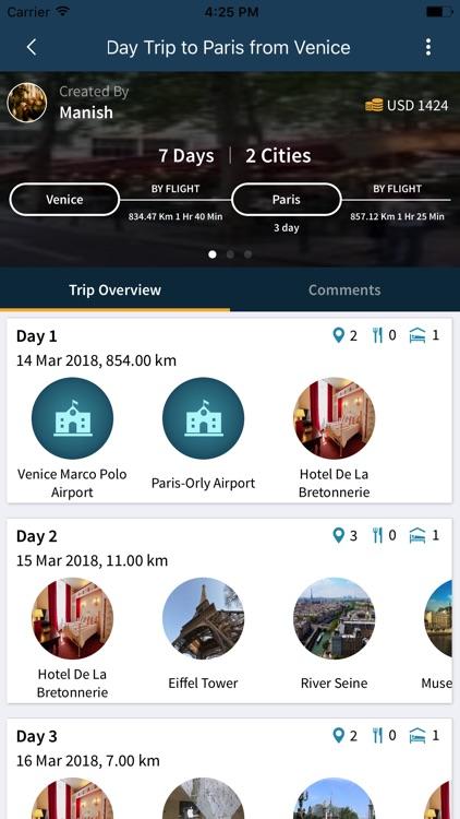 Trip Plans-TripHobo screenshot-4